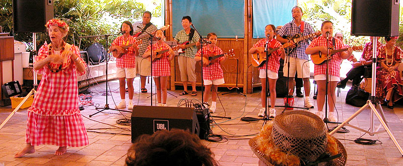 Keiki Palaka Band at Outrigger Waikiki Shore