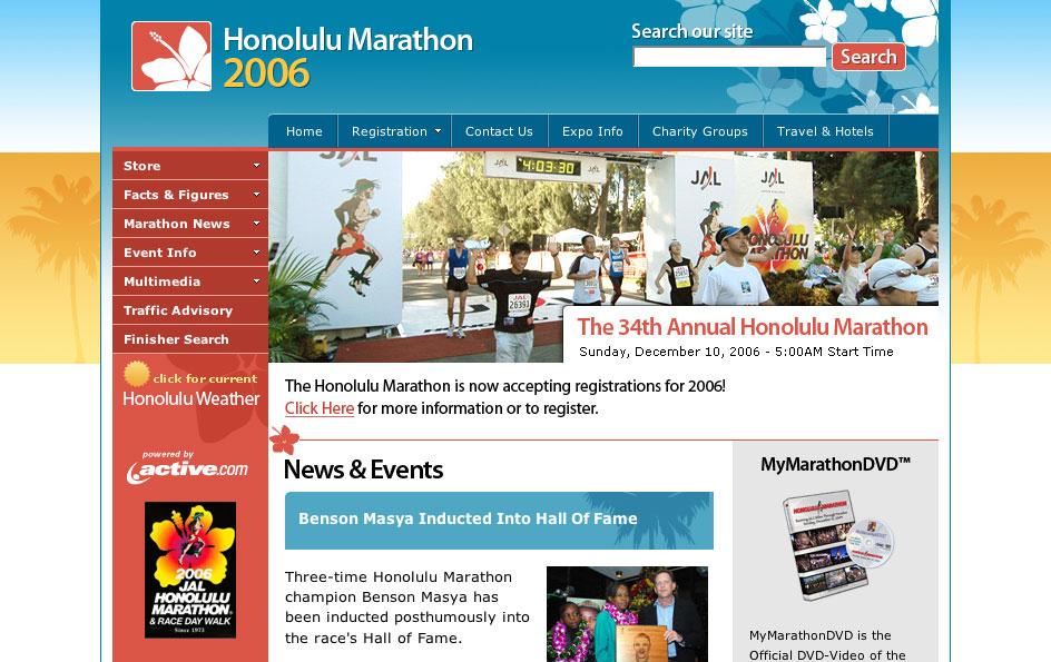 ホノルルマラソン 2006