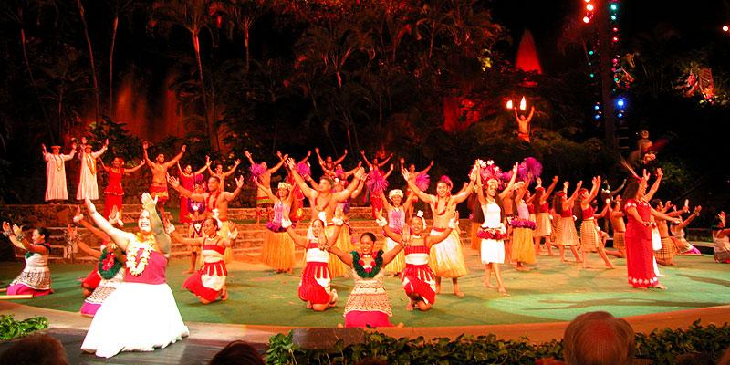ポリネシア文化センターのホライゾン