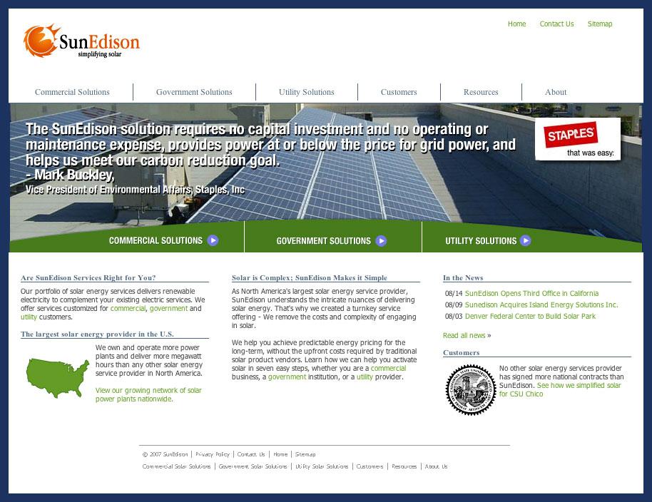 サンエジソンハワイ SunEdison Solar Energy Services