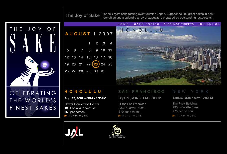 The Joy of Sake 全米日本酒歓評会