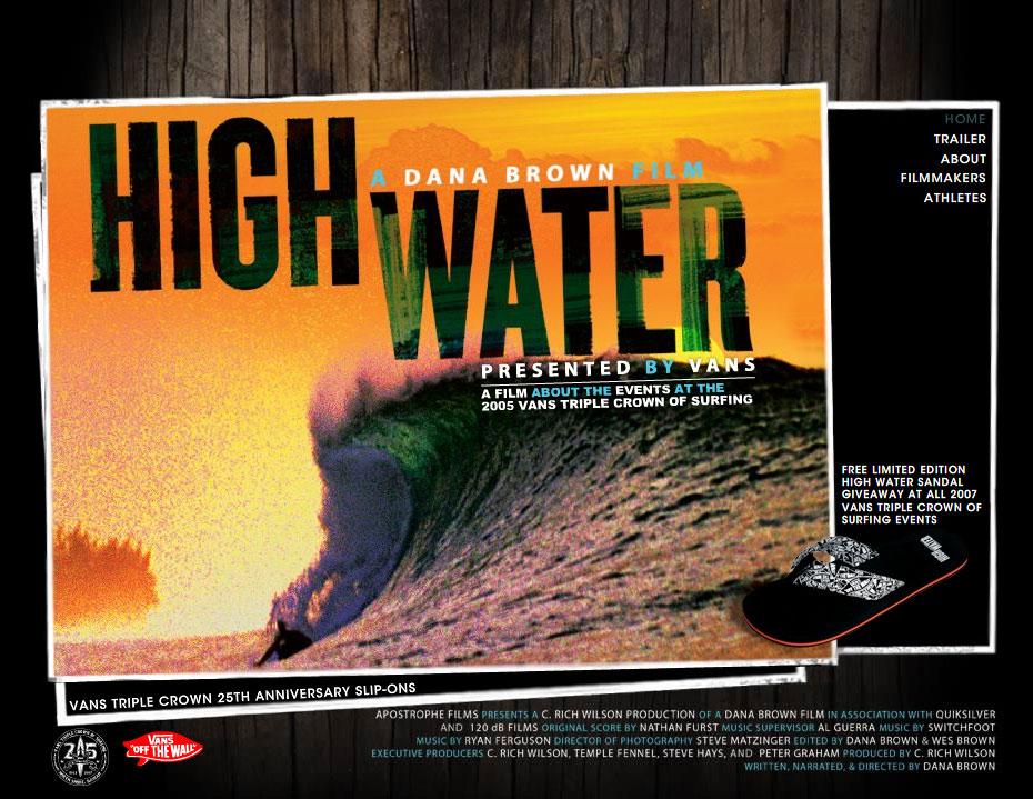 HIGH WATER BY VANS