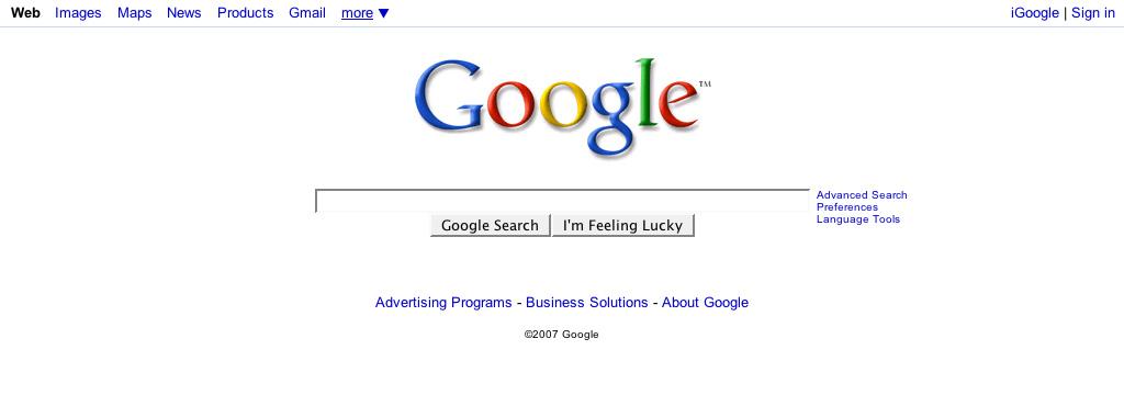 グーグルで検索