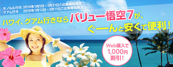 JALのバリュー悟空7